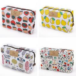 Women Cute Waterproof Makeup Travel Cosmetic Bag Toiletry Ca