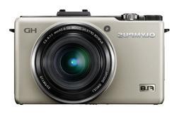 Olympus XZ-1 Digital Camera - Silver  3.0 inch LCD