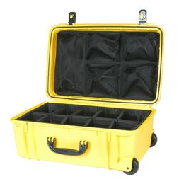 Yellow Seahorse SE920 Case With dividers Lid Org. & Pelican