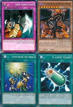 Yugioh Gandora the Dragon of Destruction Card of Sanctity YGLD NM 1st Ed Common
